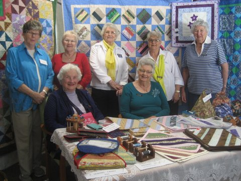 Some of our quilting ladies