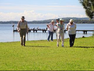 Tuggerah Lake at Bluebell Park