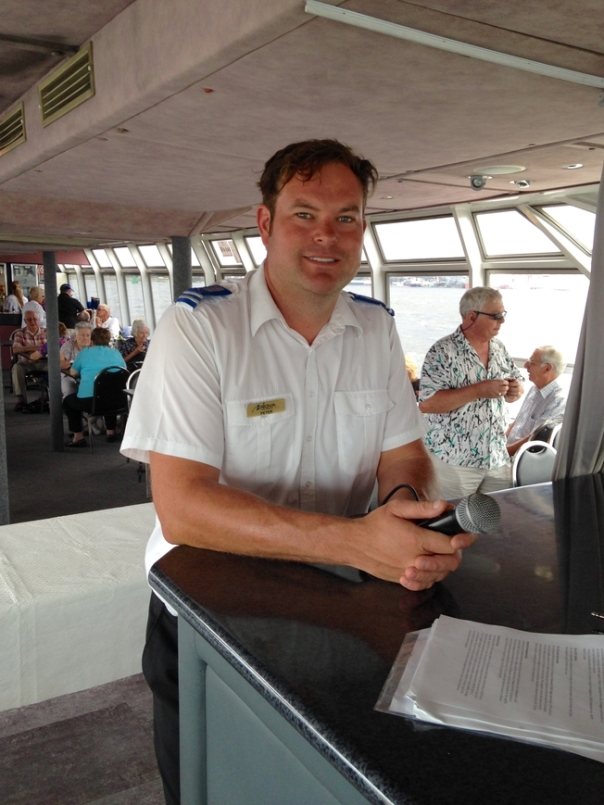 Peter provided a great running commentary of the sights and history of Newcastle Harbour throughout the cruise.