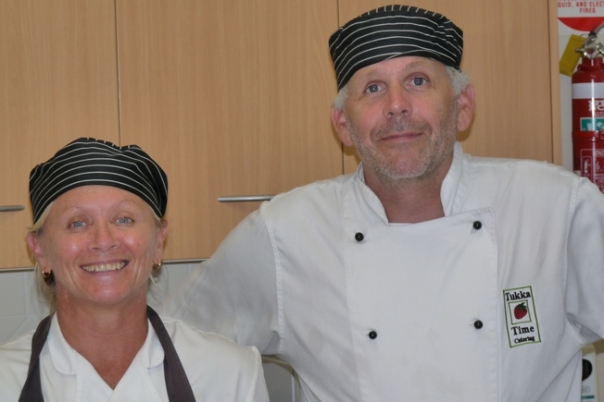 The regular outside caterers from Tukka Time at Kincumber