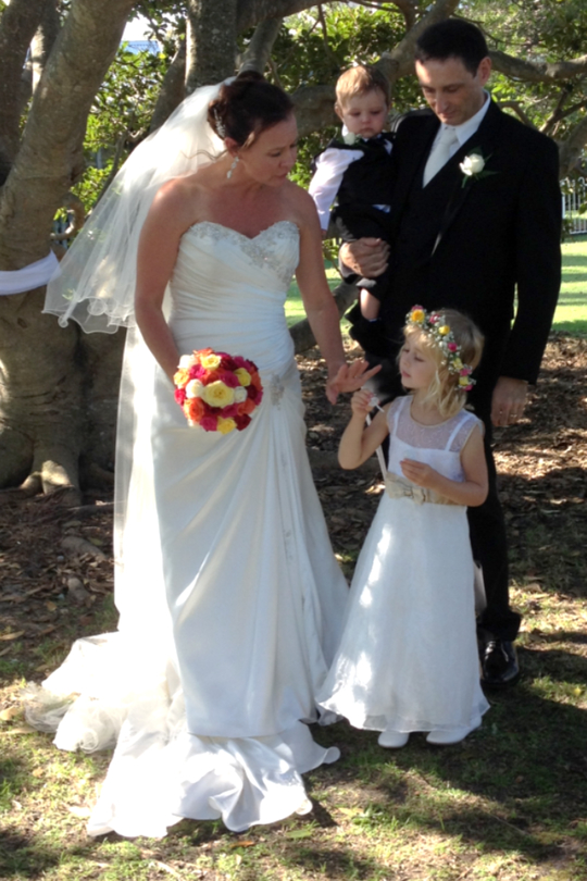 1604 wedding Bridal group