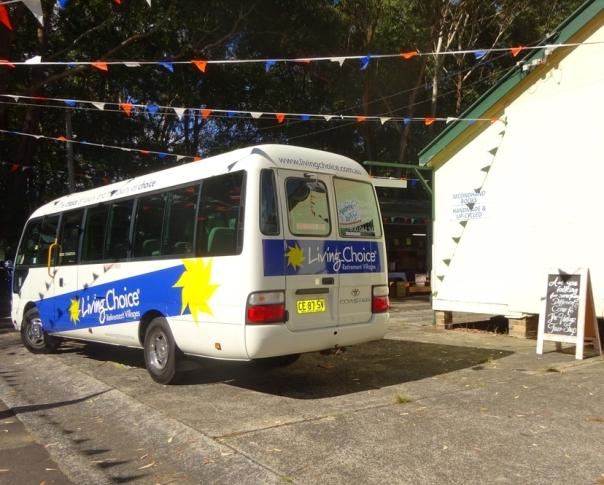 Our Bus Awaits