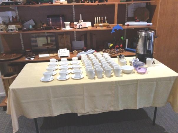 Tea & Coffee available..