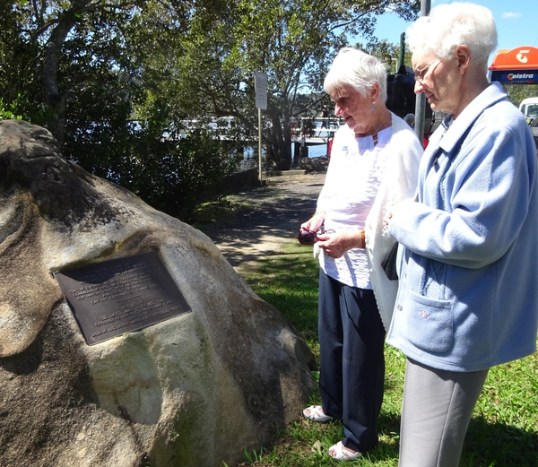In the Park ….. Remembering Governor Arthur Phillip