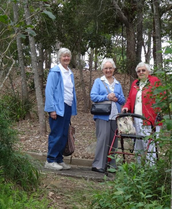 We took a short stroll in Pioneer Park